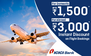 Akbar Travels ICICI Bank Offer