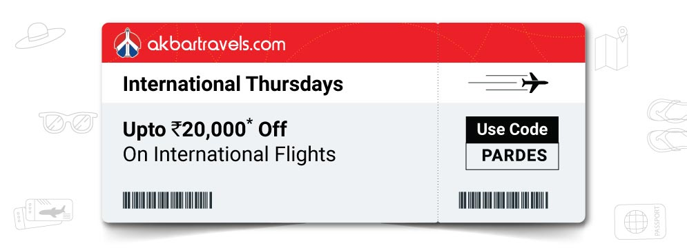 offers on International Flights Booking